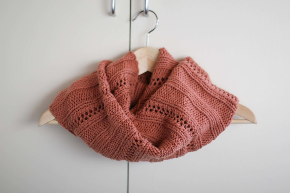 FREE Big Hearted Cowl Pattern