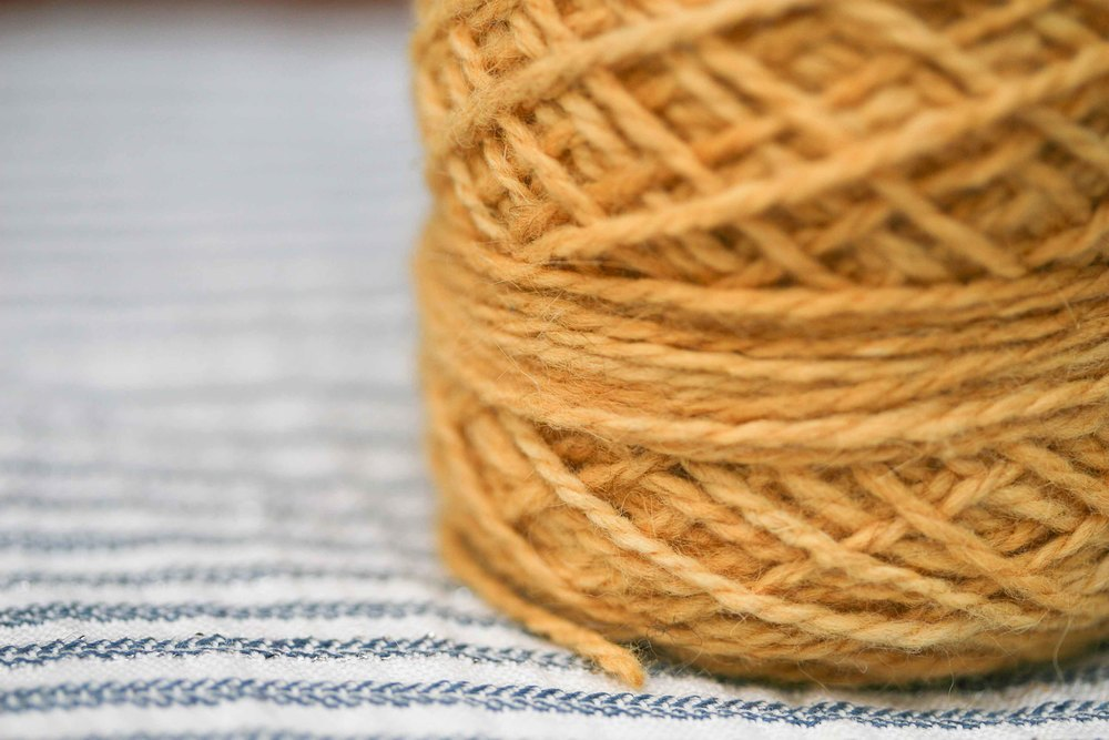 Show the texture and the beautiful semi solid-ness of the yarn.