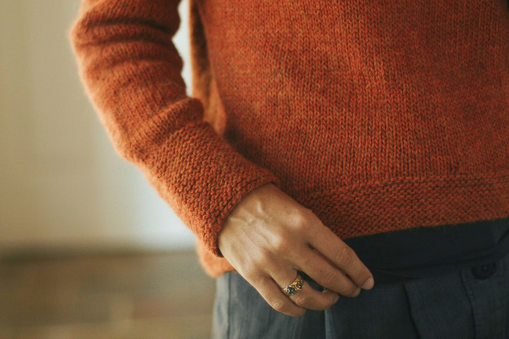 Love this sleeve length for a cosy winter jumper.
