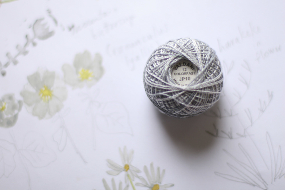 Embroidery from the Natural World