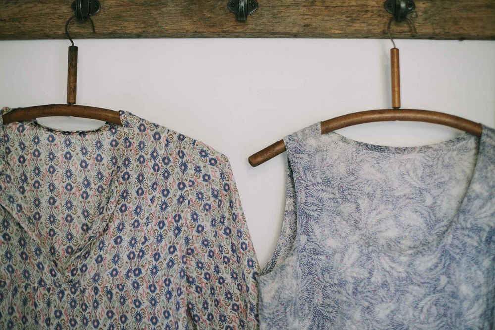 Wiksten Tova and Tank with fabric from Tessuti.