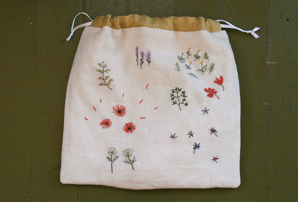 Embroidery 101 Project Bag The Craft Sessions