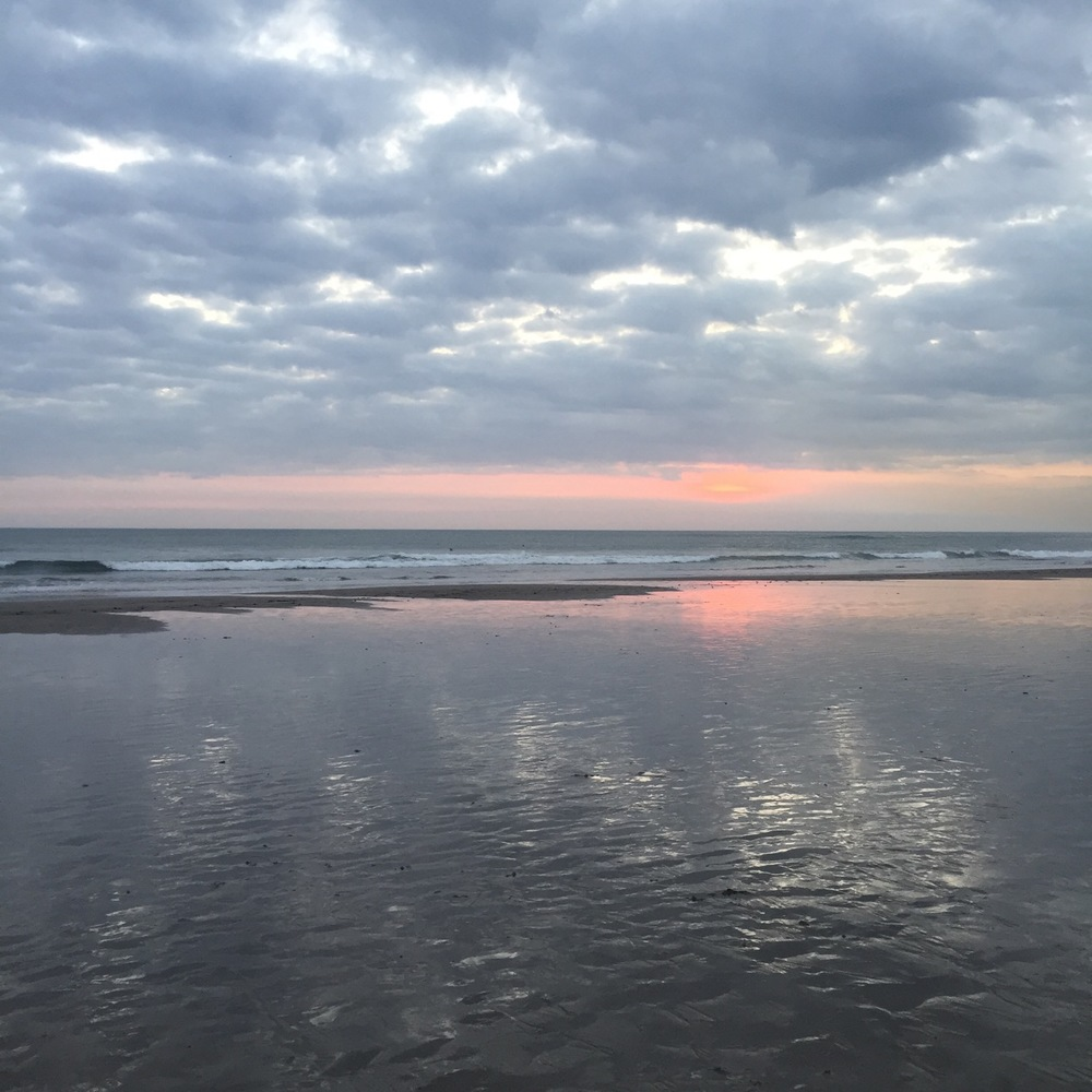 Sunset in Canngu.