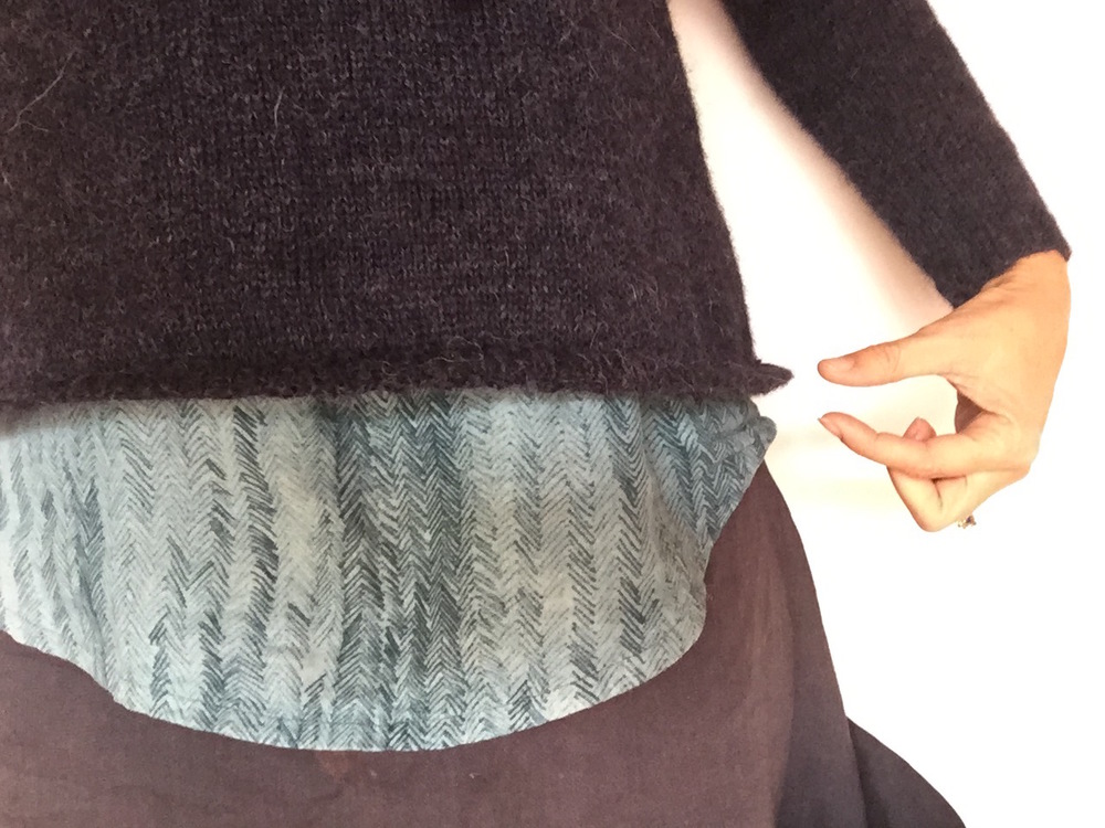 41be3705d517 How to stop your knitted hem from flipping up. — The Craft Sessions