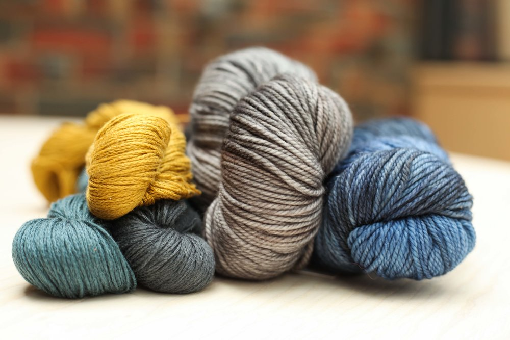 Shibui on the left and The Yarn Collective on the right.