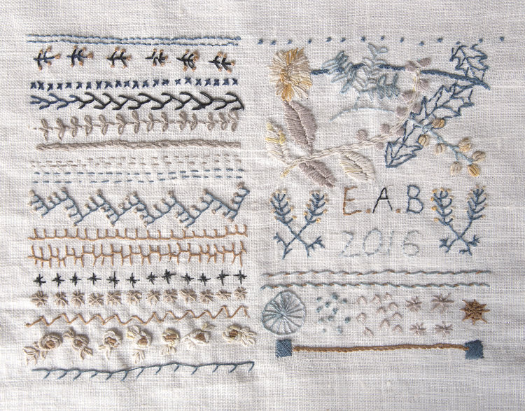 Handwork Embroidery Sampler The Craft Sessions