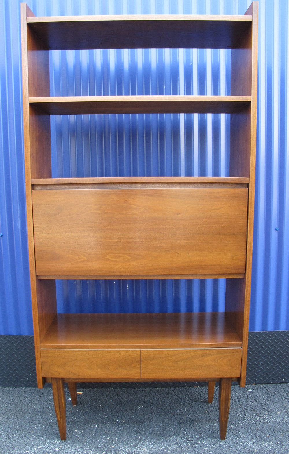 HOOKER BOOKCASE WITH CABINET