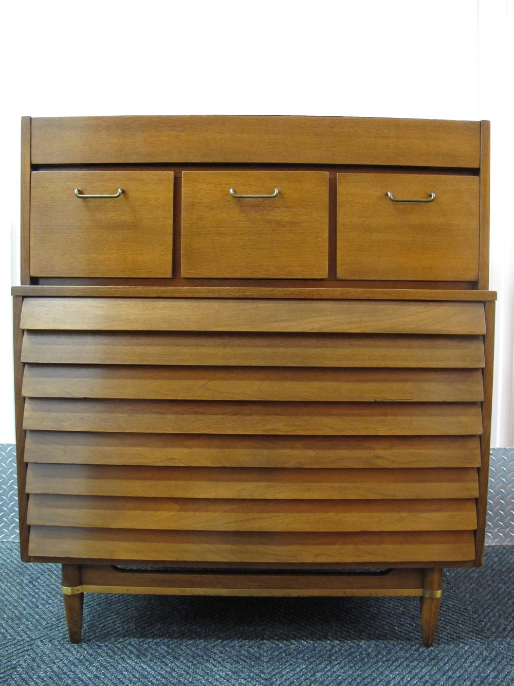 AMERICAN OF MARTINSVILLE HI BOY DRESSER