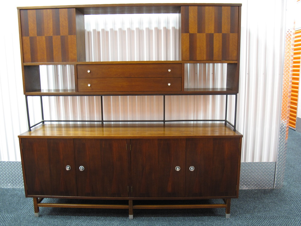 MID CENTURY WALL UNIT BY STANLEY