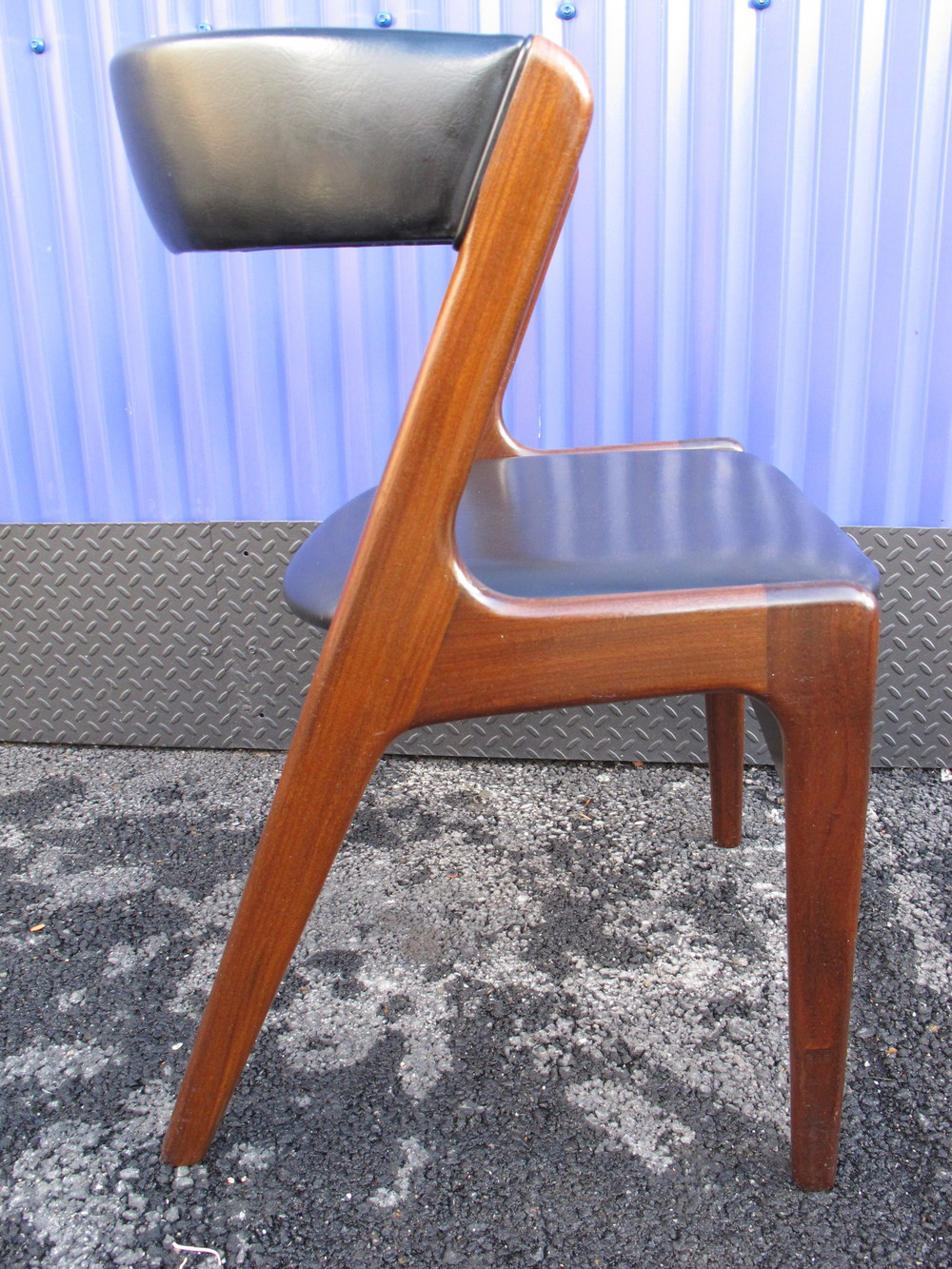 DANISH MODERN SIDE CHAIR BY KAI CHRISTENSEN
