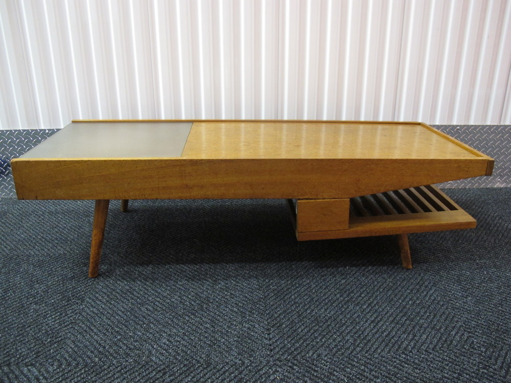 BROWN SALTMAN COFFEE TABLE