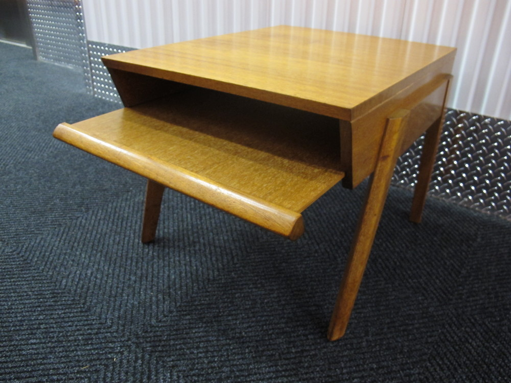 BROWN SALTMAN END TABLE