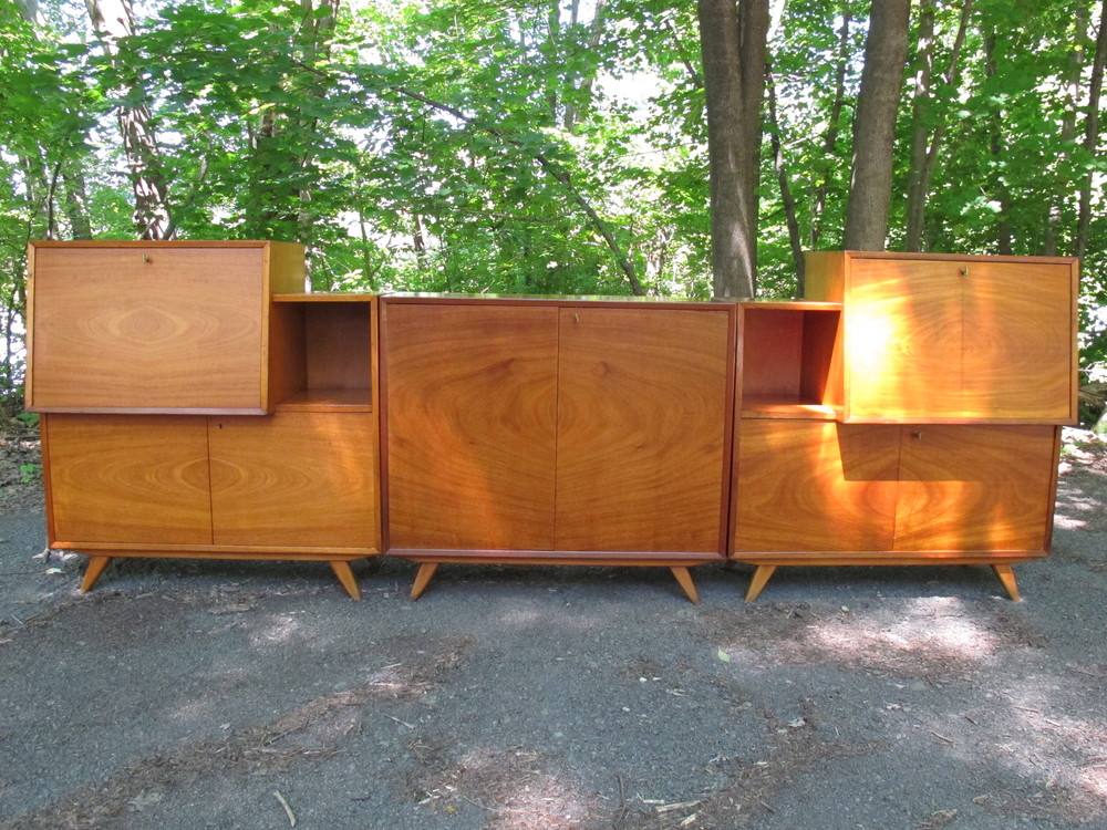 A.B. JO CARLSSONS SWEDISH CABINET BAR AND DESK SET