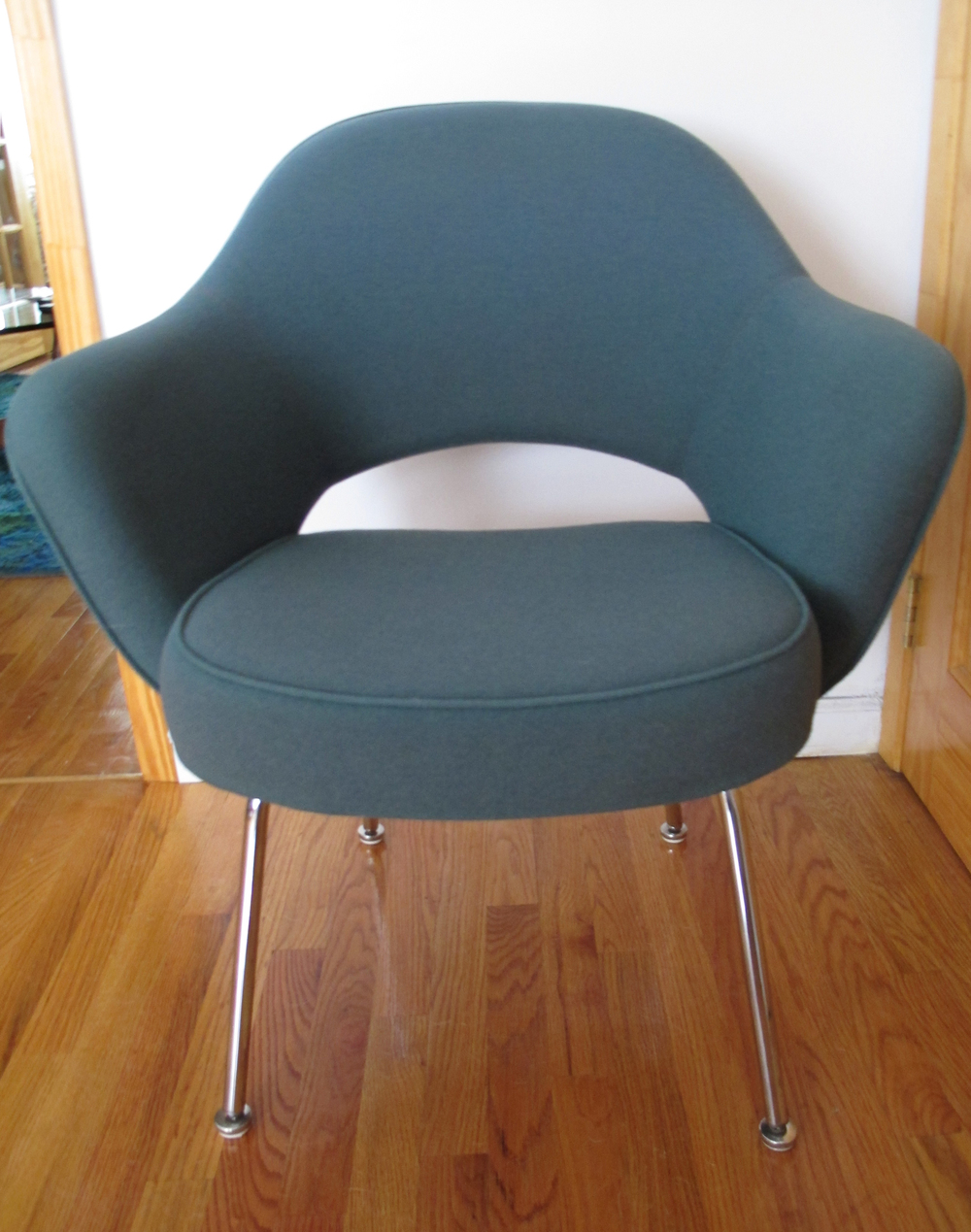 SEA GREEN KNOLL SAARINEN ARMCHAIR