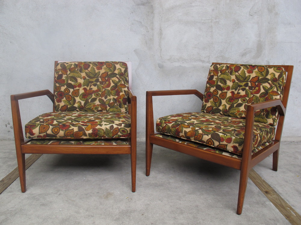 MID CENTURY ARMCHAIRS STYLED AFTER ROBSJOHN-GIBBINGS