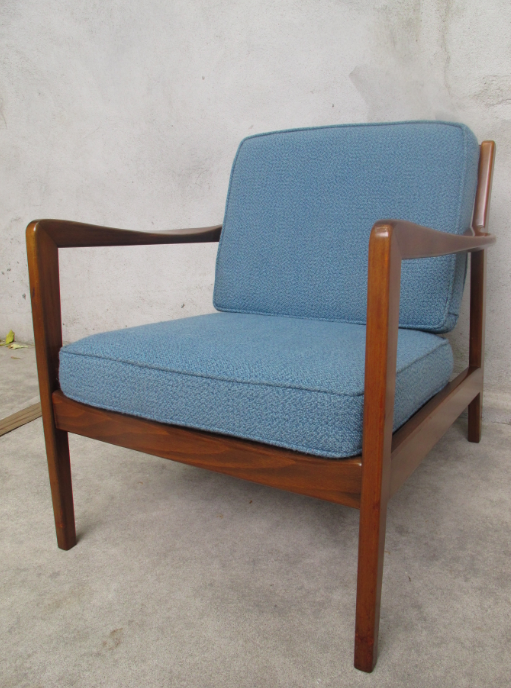 DUX DANISH MODERN ARM CHAIR BY FOLKE OHLSSON