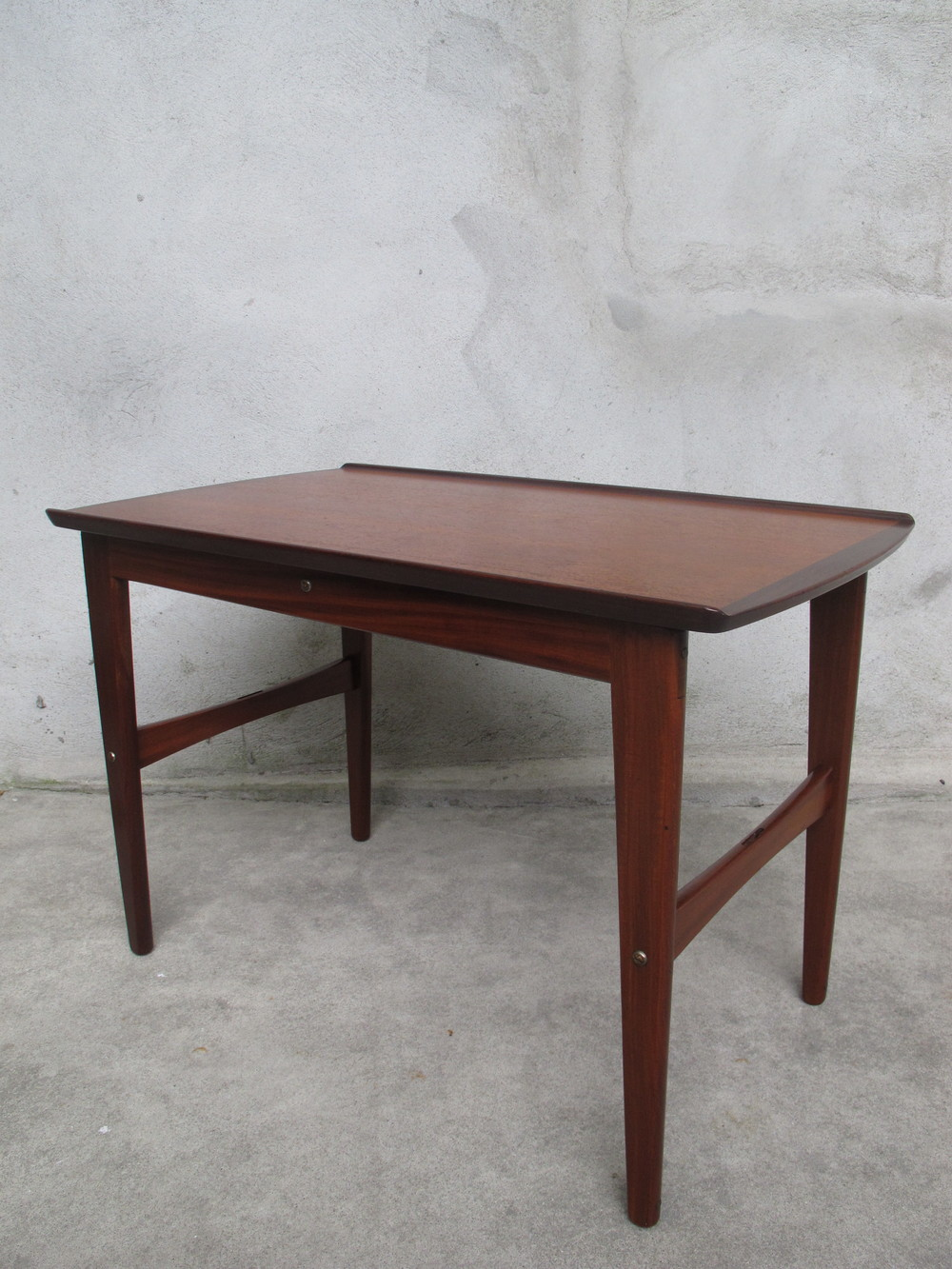 DANISH TEAK END TABLE AFTER GRETE JALK
