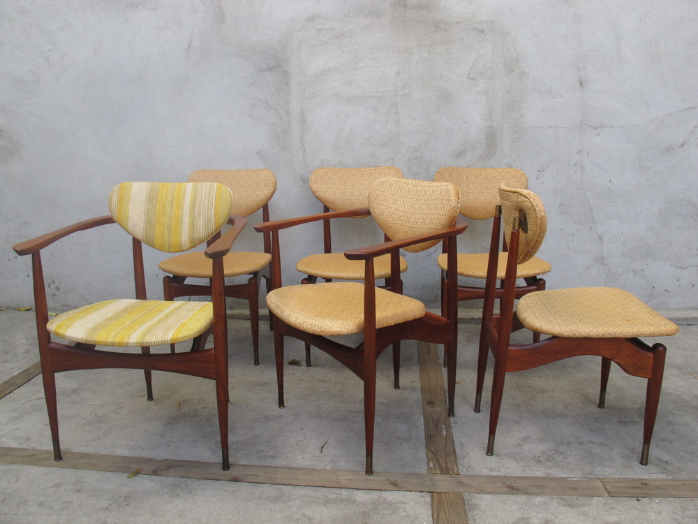 DANISH MODERN DINING CHAIRS AFTER FINN JUHL