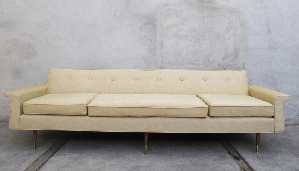 MID CENTURY SOFA BY MODEL DECORATORS