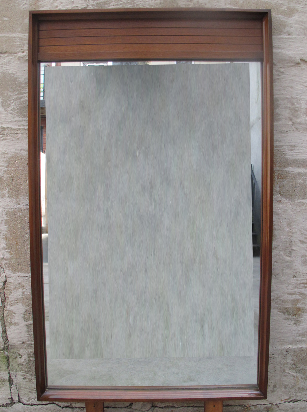 MID CENTURY MIRROR BY JOHNSON CARPER
