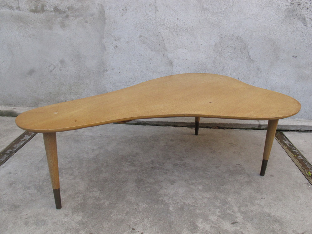 MID CENTURY AMORPHIC COFFEE TABLE