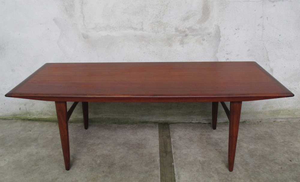 NORWEGIAN TEAK TALL COFFEE TABLE BY SOLA MOBLER