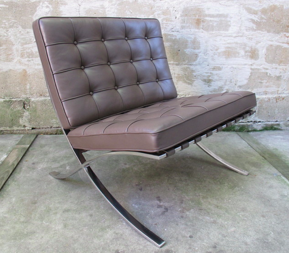 KNOLL BARCELONA CHAIR BY MIES VAN DER ROHE