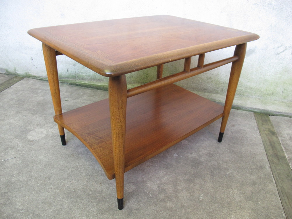 MID CENTURY LANE ACCLAIM TWO-TIER END TABLE