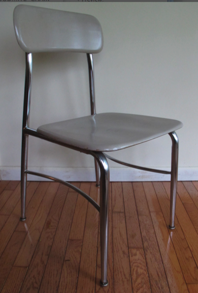 "1960'S HEYWOOD WAKEFIELD ""HEY WOODITE"" CHAIR"