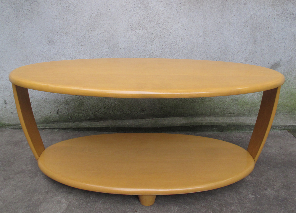 RARE HEYWOOD WAKEFIELD COCKTAIL COFFEE TABLE