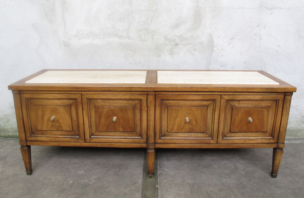 MID CENTURY MASTERCRAFT STYLE LOW CONSOLE CABINET
