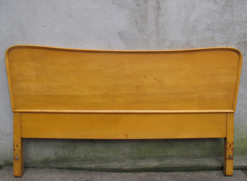 SWEDISH MODERN FULL SIZE HEADBOARD BY EDMUND SPENCE