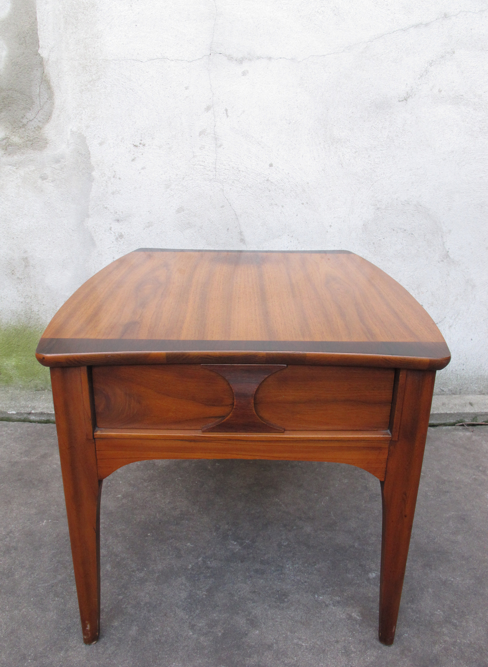 DANISH MODERN STYLE END TABLE BY KENT COFFEY