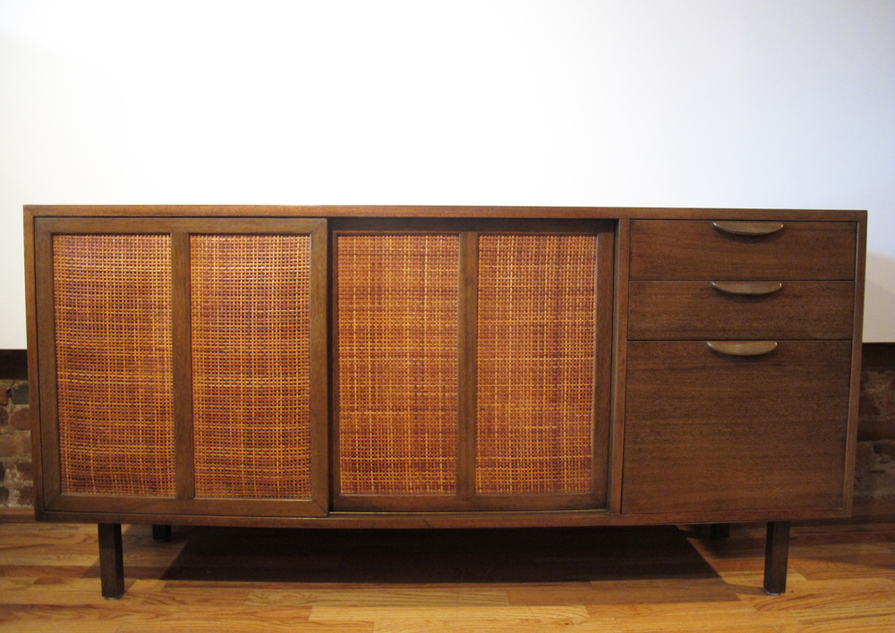 MID CENTURY SIDEBOARD CABINET BY HARVEY PROBBER