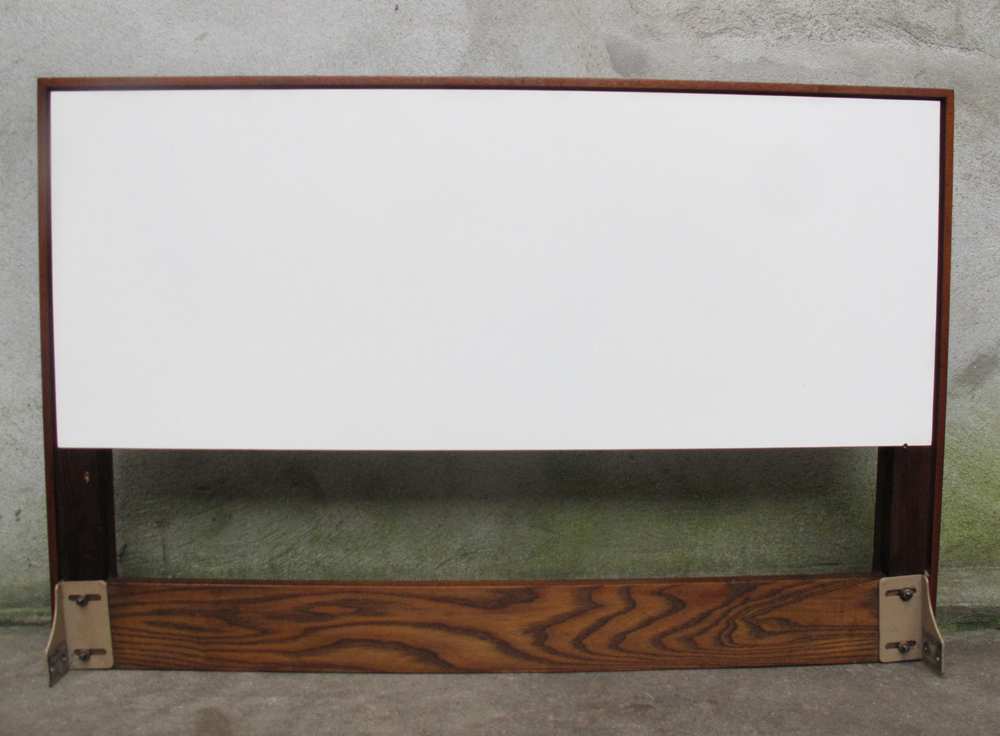 MID CENTURY TWIN SIZE HEADBOARD BY KNOLL 2 OF 2