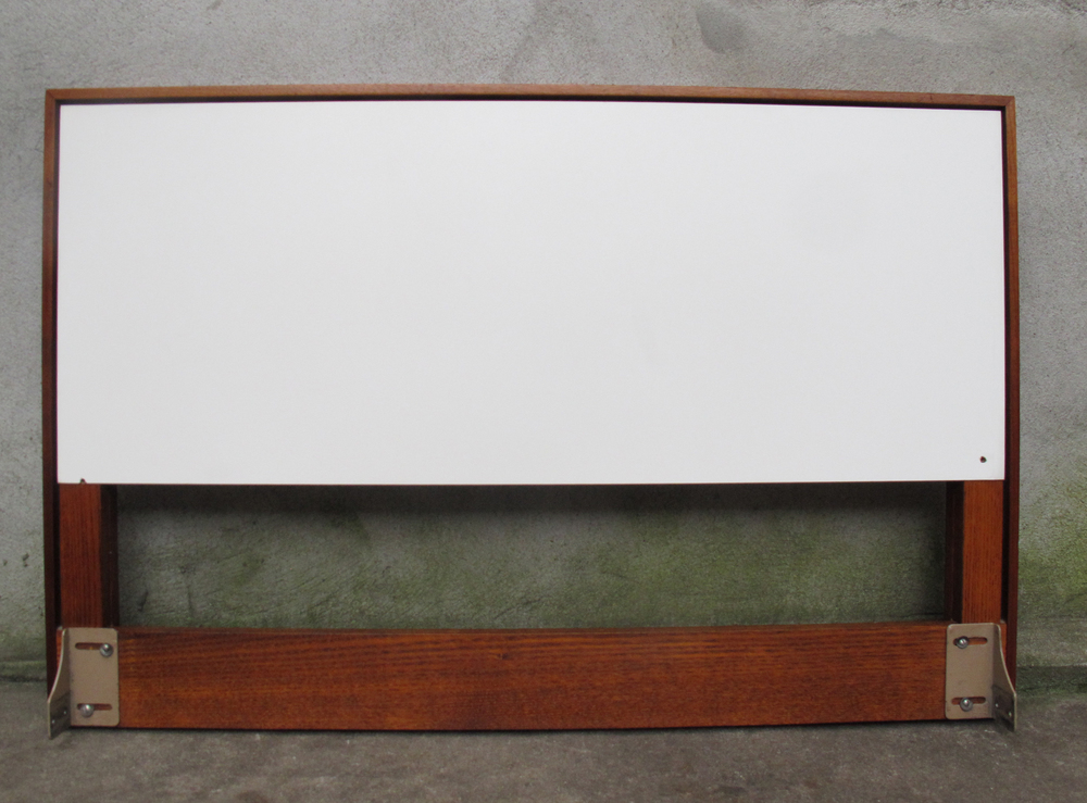 MID CENTURY TWIN SIZE HEADBOARD BY KNOLL 1 OF 2