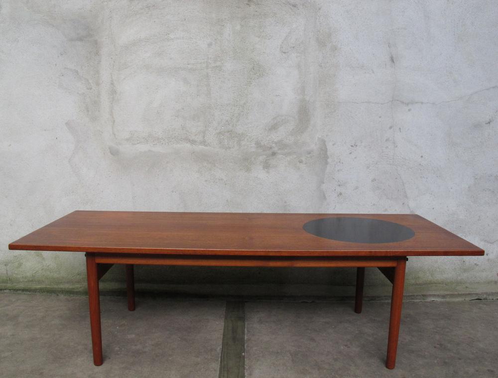 DANISH MODERN TEAK COFFEE TABLE BY GRETE JALK
