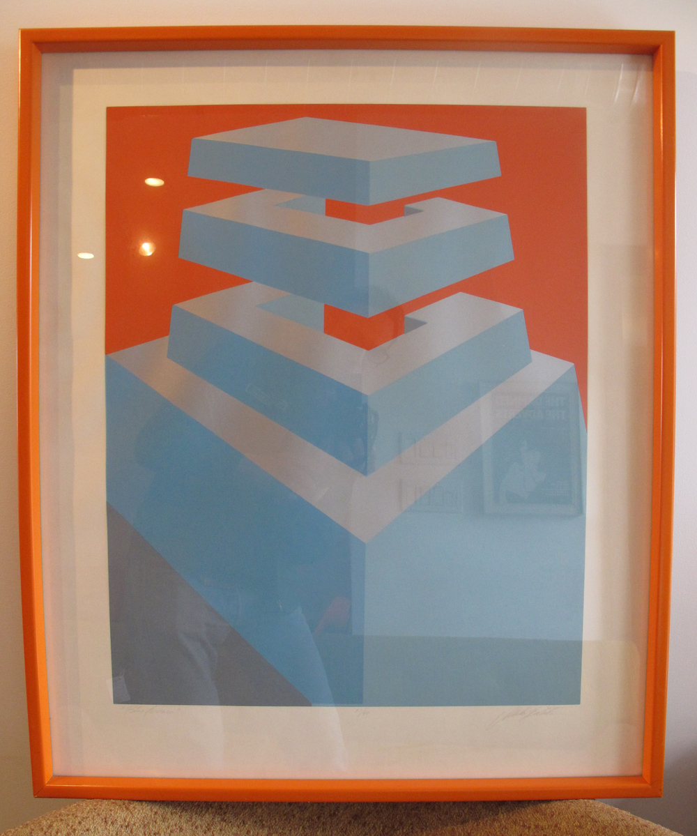 GEOMETRIC OP-ART LIMITED EDITION PRINT BY MARKO SPALATIN