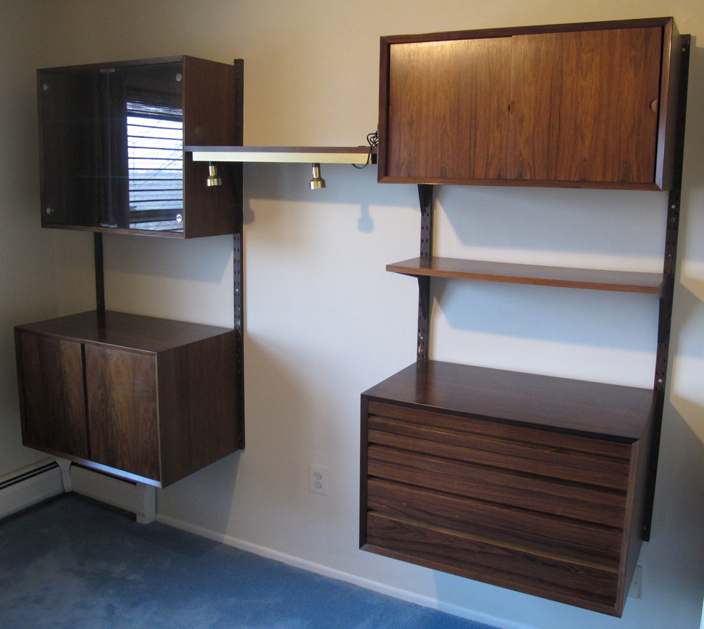 DANISH MODERN ROSEWOOD CADO SYSTEM BY POUL CADOVIUS