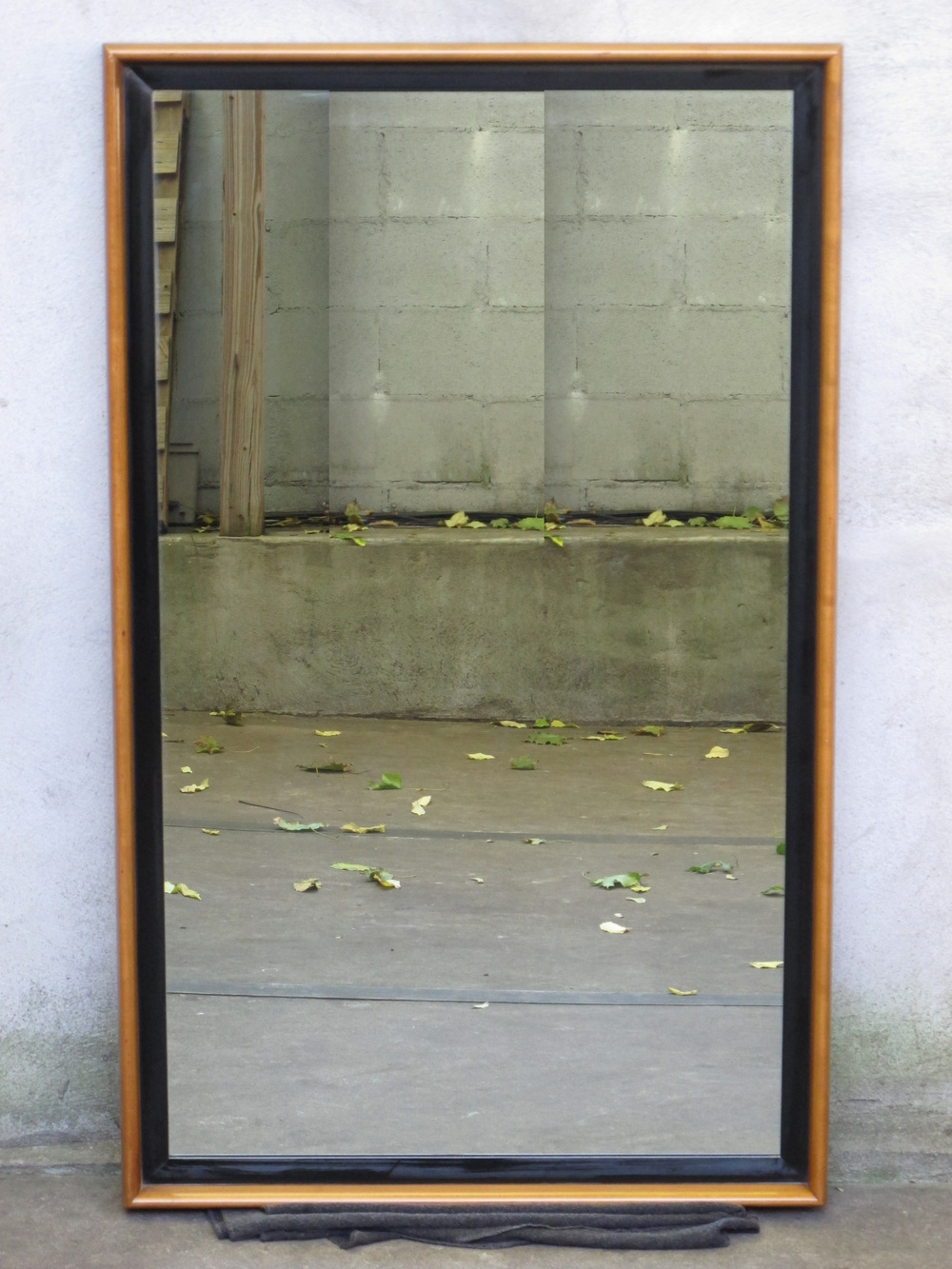 MID CENTURY PAUL FRANKL MIRROR BY JOHNSON FURNITURE