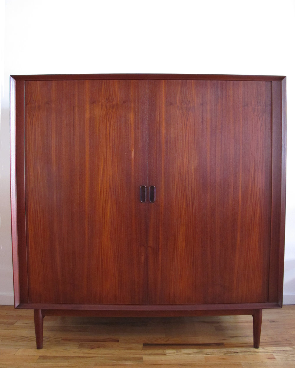 DANISH MODERN TEAK GENTLEMAN'S CHEST BY ARNE VODDER FOR SIBAST