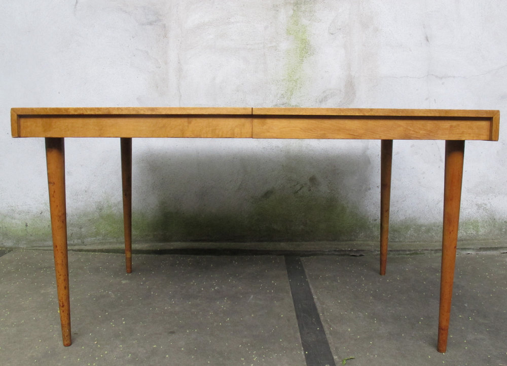 MID CENTURY BIRCH DINING TABLE BY EDMOND SPENCE