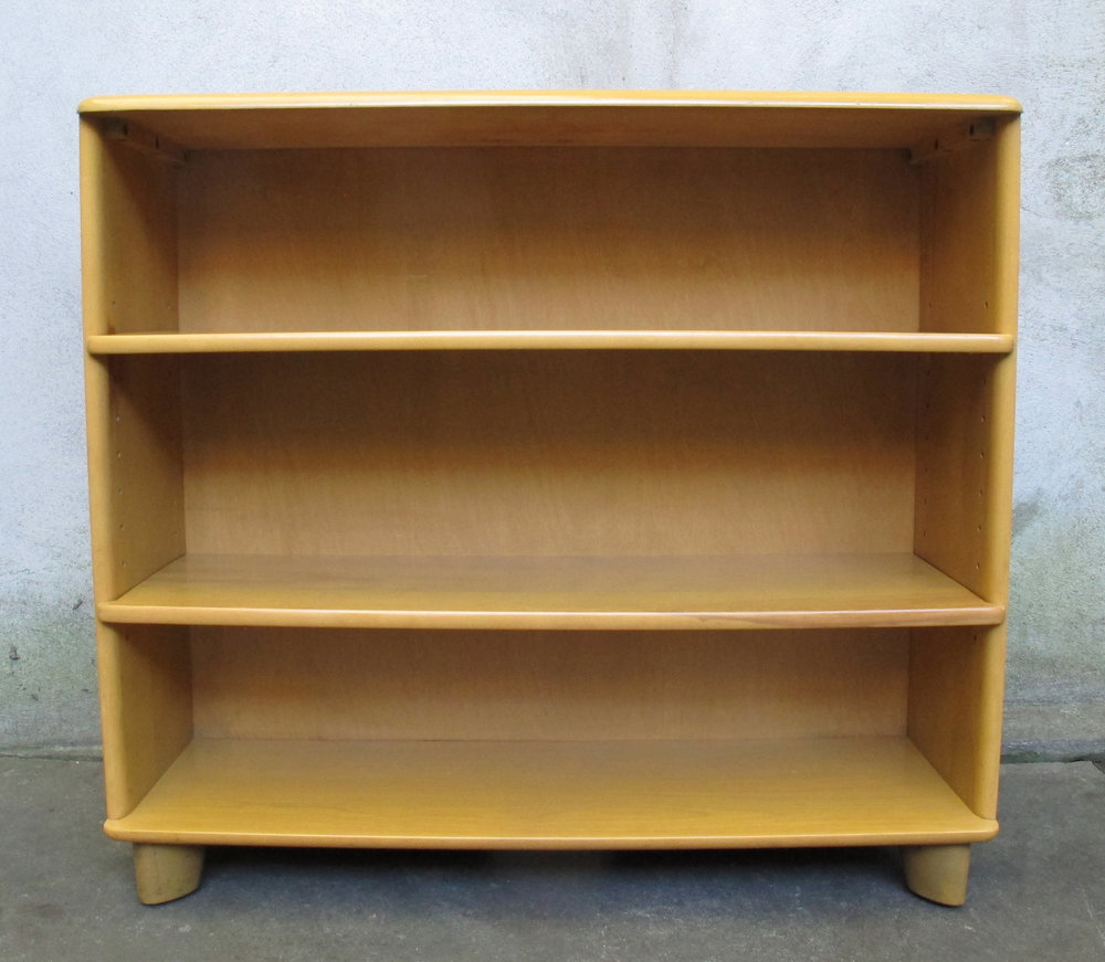 HEYWOOD WAKEFIELD M321 WHEAT BOOKCASE