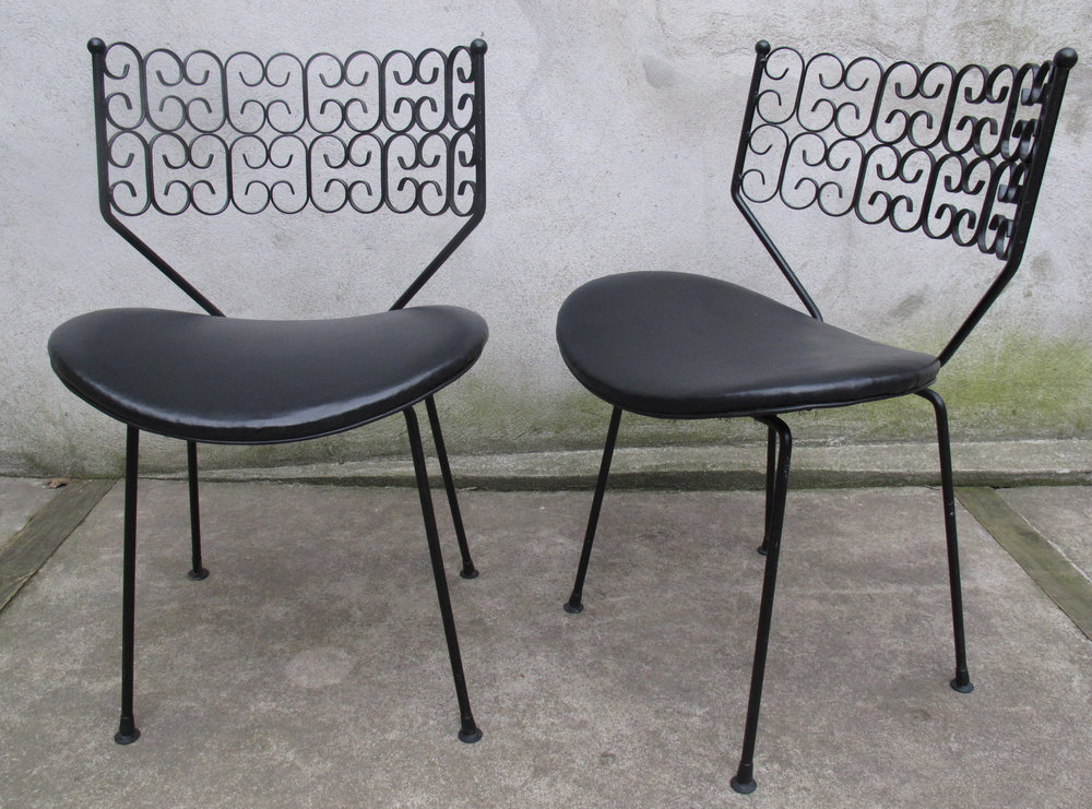 PAIR OF MID CENTURY GRANADA CHAIRS BY ARTHUR UMANOFF