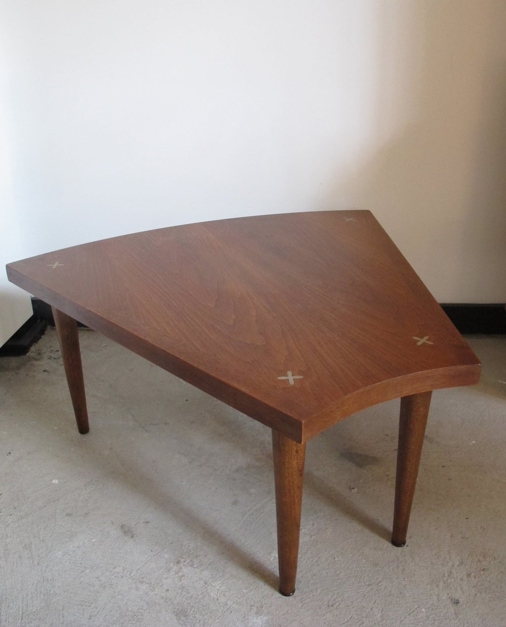 MID CENTURY SIDE TABLE BY MARTIN GERSHON FOR AMERICAN OF MARTINSVILLE