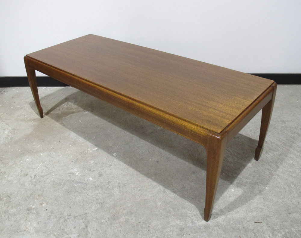 MID CENTURY COFFEE TABLE BY BROWN SALTMAN