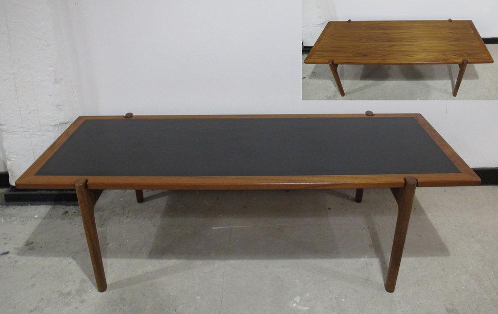 DANISH HANS WEGNER REVERSIBLE TEAK COFFEE TABLE (JH 564) BY JOHANNES HANSEN