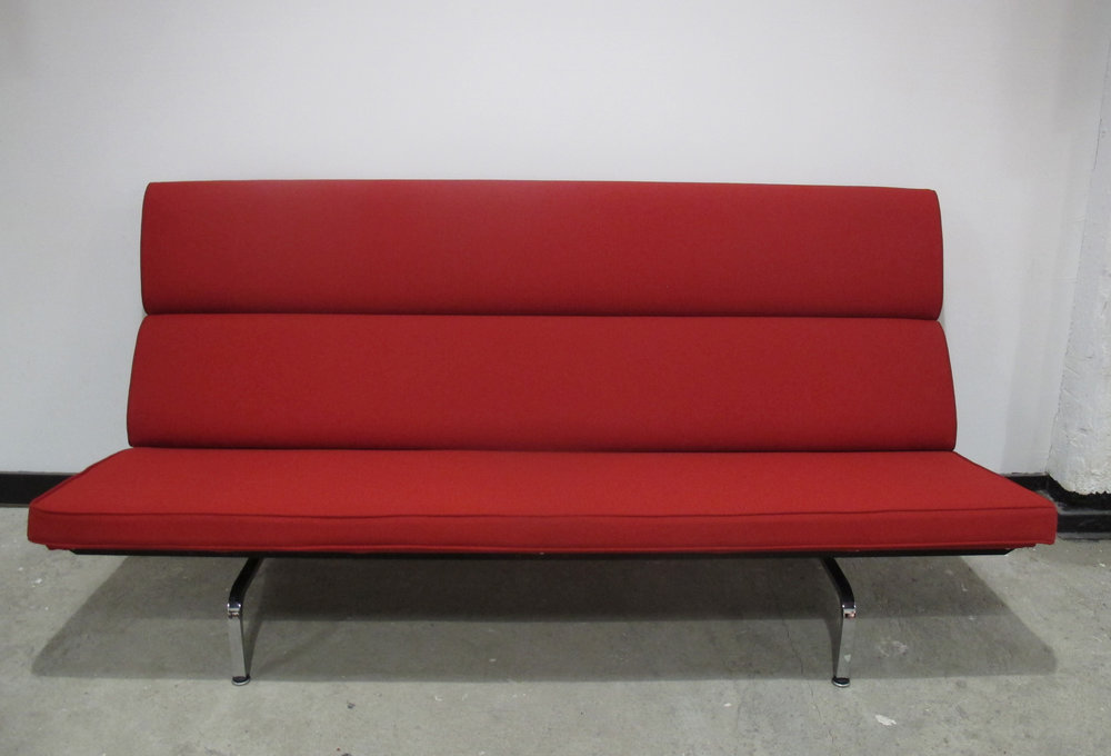 EAMES COMPACT SOFA BY HERMAN MILLER