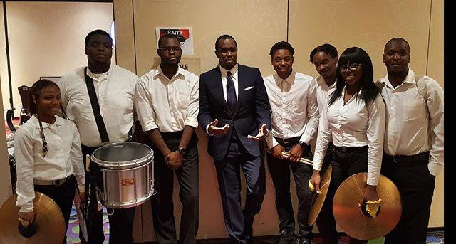 TOP MEMORY #3: @diddy backstage with NGD before our performance at Kaitz Dinner! #BrooklynExpress #TheUltimateEntertainment