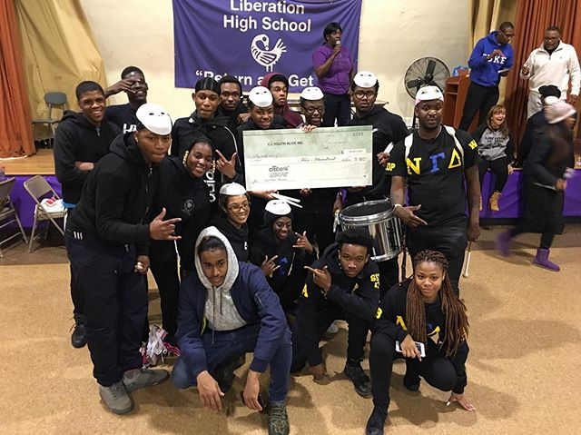 Congratulations to @newgenesisdrumline winning FIRST PLACE at yesterday's drumline competition hosted by C.I. Youth Alive! #BrooklynExpress #NewGenesisDrumline #NumberOne #TheUltimateEntertainment